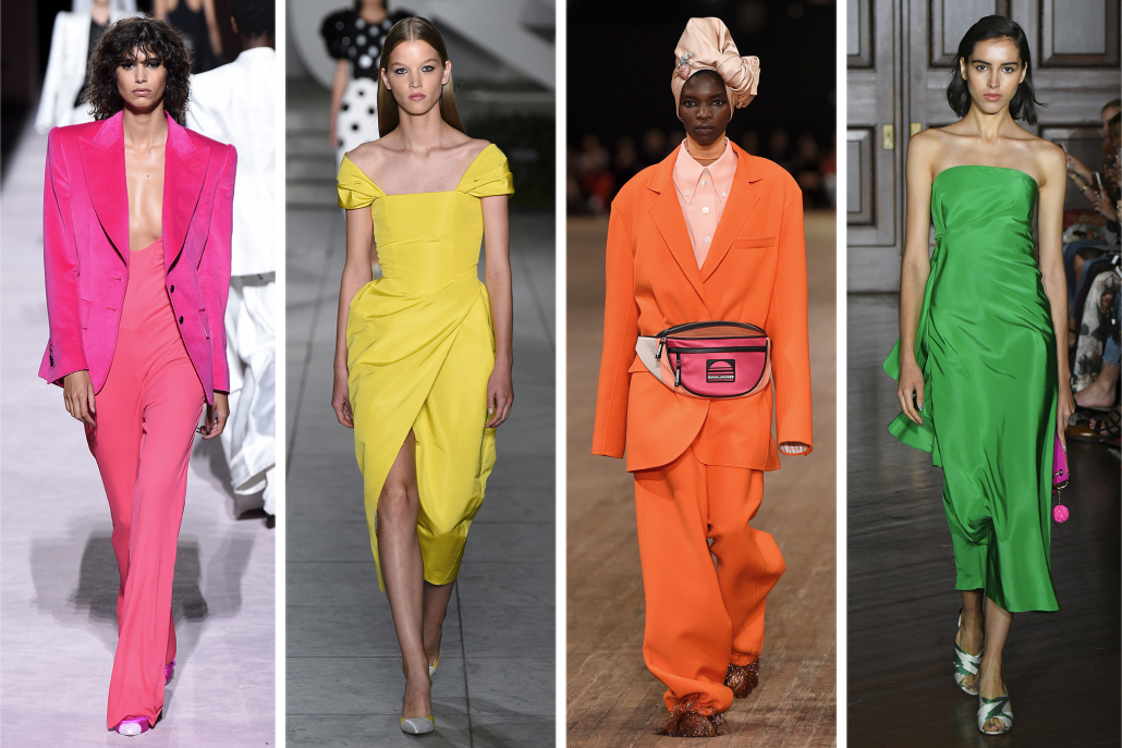 Fashion Trends - summer colors