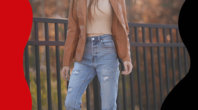 Fashion Trends- Learn to combine your fashionable jeans with the following tips- banner