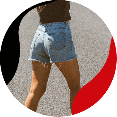 Fashion Trends- a style full of freefom the boho chic style and how to wear it- jeans shorts