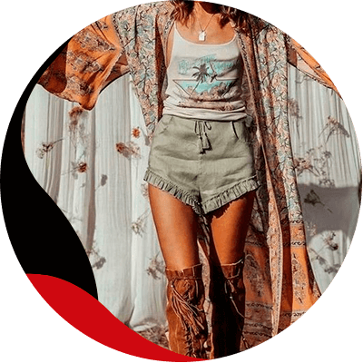 Fashion Trends- a style full of freefom the boho chic style and how to wear it- dress