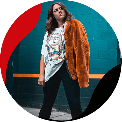 Fashion Trends- bring out the rockstar in you with the best rock outfits- woman with a jacket
