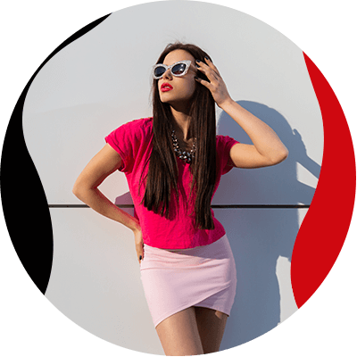 Fashion Trends- Discover yhe wonder of the monochrome trend- woman in pink