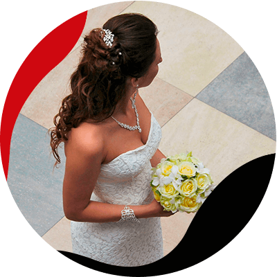 Fashion Trends and Style - How much does a wedding dress cost - Bride with white dress