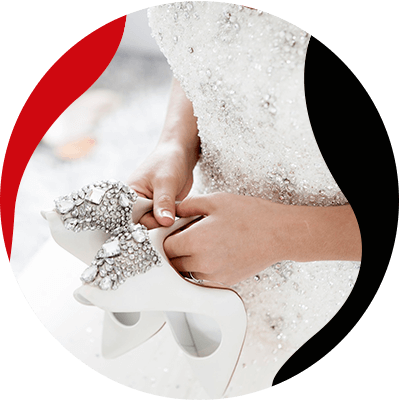 Fashion Trends and Style - How much does a wedding dress cost - White beautiful shoes