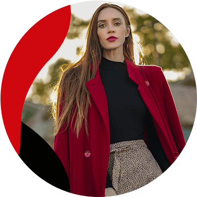 FashionTrends-The most popular coats for women in 2021-Red coats
