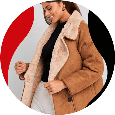 FashionTrends-The most popular coats for women in 2021-Shearling coats