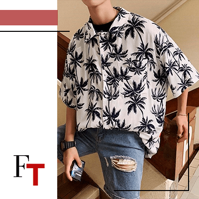 FashionTrends-05 Classy Summer Festival Outfit Ideas That YouÔÇÖll Love-Hawaiian Shirts