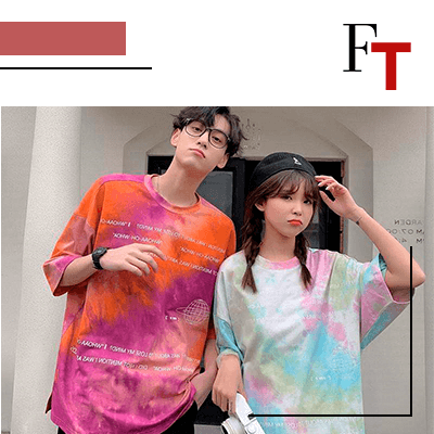 FashionTrends-05 Classy Summer Festival Outfit Ideas That YouÔÇÖll Love-Tie _ dye T- shirts