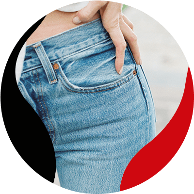 FashionTrends-Everything good about High-waisted jeans-They will make your hips stand out