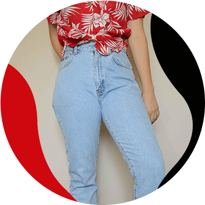 FashionTrends-Everything good about High-waisted jeans-Use them to hide your belly