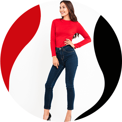 FashionTrends-Everything good about High-waisted jeans-Your legs will look longe