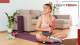 fashion trends - Working out at home, a new trend - woman in her living room