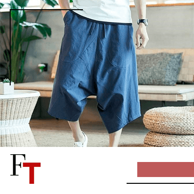 FashionTrends-Here Are 12 Stylish Harem Shorts You Must Own This Summer-12-Harem Style Cotton Shorts