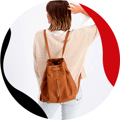 FashionTrends-Learn how to easily combine your leather backpacks-Leather sack backpack