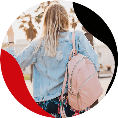 FashionTrends-Learn how to easily combine your leather backpacks-Your leather backpack and accessories can be in different colors
