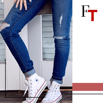 FashionTrends - outfit with converse and jeans