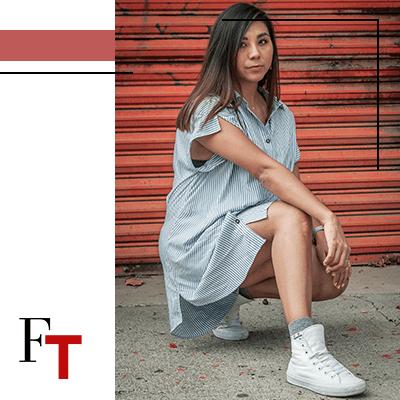FashionTrends- woman wearing white converse