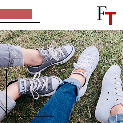 FashionTrends- two pair of converses