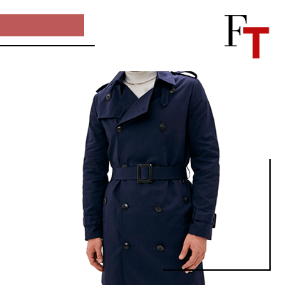 FashionTrends-Show your dad your love by giving him the best clothes and accessories on FatherÔs Day-Trench coat