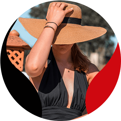 FashionTrends-The best way to wear your favorite hats- 5-Beach hat
