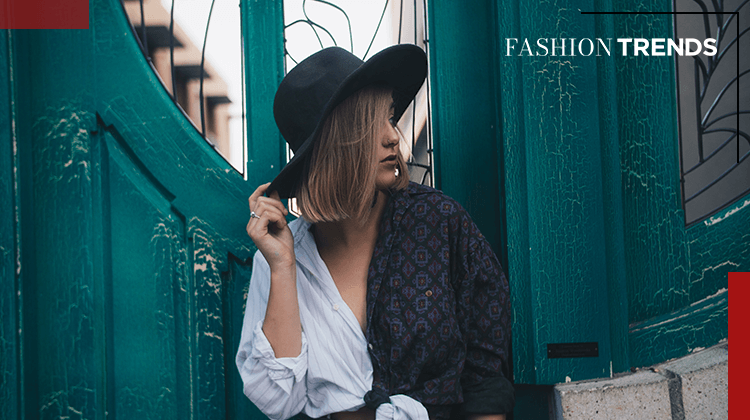 Fashion Trends and Style -Hats - Banner