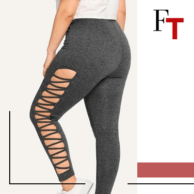 Fashion Trends and style - leggings - with openings