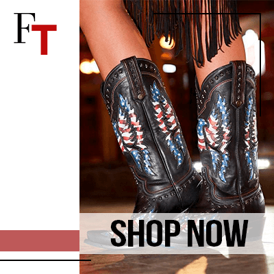 Fashion Trends and Style - Cowboy boots- Patriotic