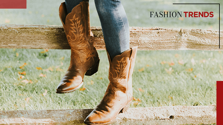 Fashion Trends and Style - Cowboy boots- Banner