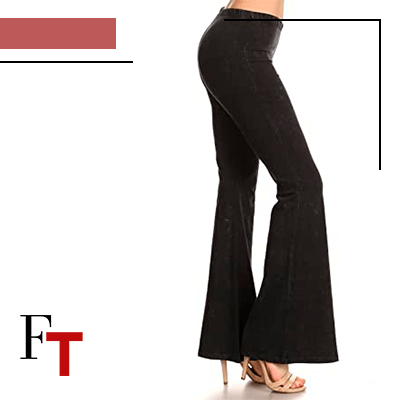 Fashion Trends and Style - for flared pants - Squared and colored
