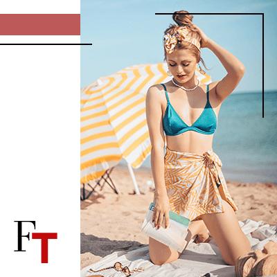 Fashion Trends and Style - Sarongs - like a miniskirt