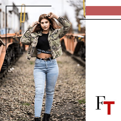 Fashion Trends and Style - military look - jacket