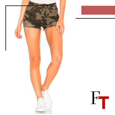 Fashion Trends and Style - military look - short