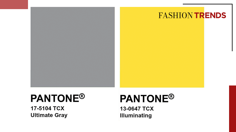 Fashion Trends and Style - Illuminating Yellow and Ultimate Gray - Banner