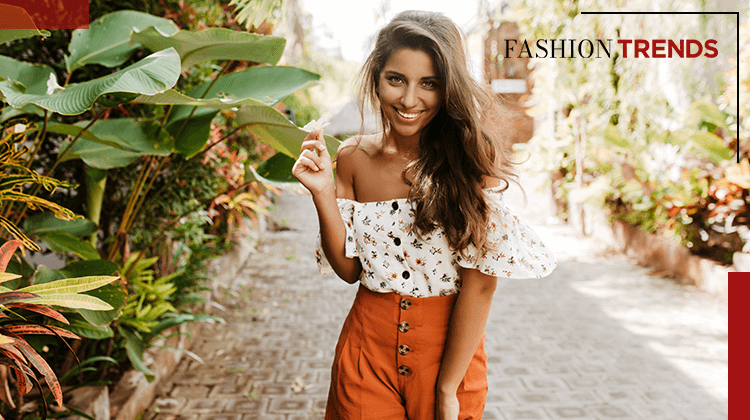 Fashion Trends and Style-It is always in fashion wear a flower prints-Banner