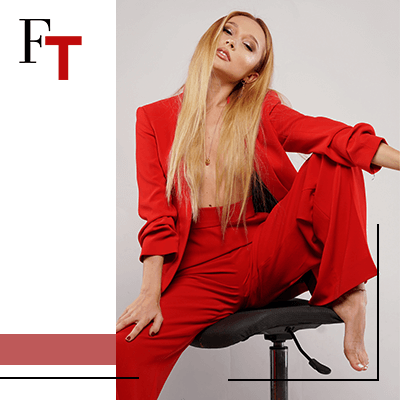 Fashion Trends and style-Loose tailoring is the new way to feel relaxed-red clothes