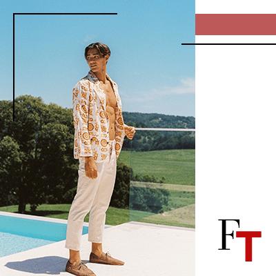Fashion Trends and style - men's fashion - Retro wave