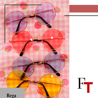 Fashion Trends and Style . Bikinis - accessories - Aisyi - Round Sunglasses