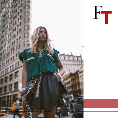 Fashion Trends - woman in the city
