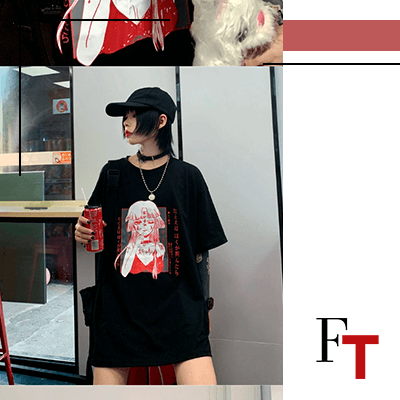 Fashion Trends and Style - Streetwear - Oversized Tshirt