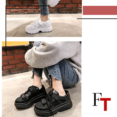 Fashion Trends and Style - Streetwear - Platform sneakers