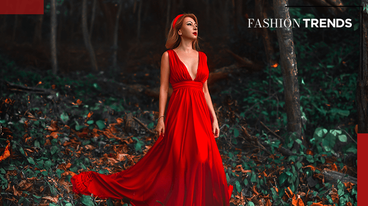 Fashion Trends and Style - Draped - Banner