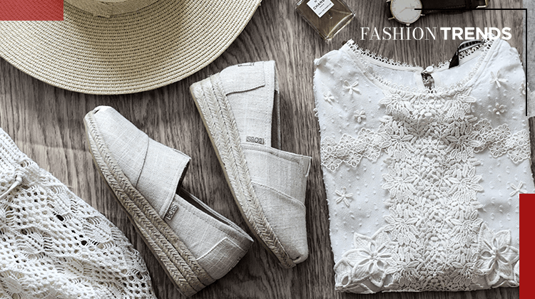Fashion Trends and Style - espadrilles - Banner