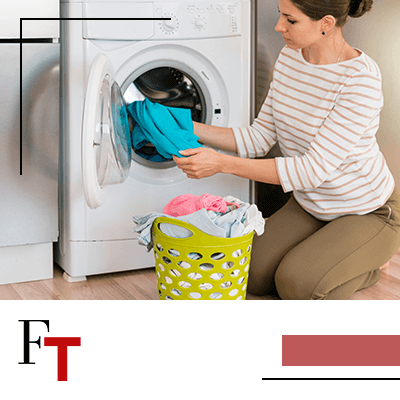 Fashion Trends - woman doing the laundry
