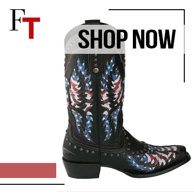 Fashion Trends and Style - cowboy - old glory