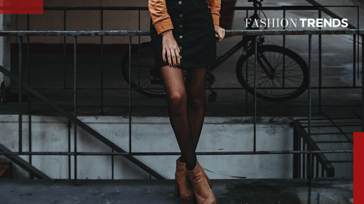 Fashion Trends and Style - Black tights - Banner