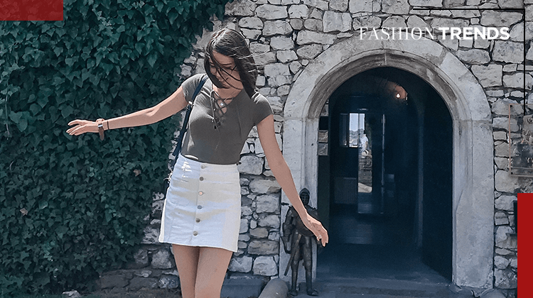 Fashion Trends and Style - shorts skirts - Banner