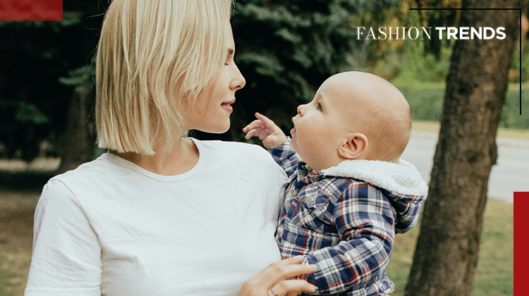 Fashion Trends ans Style - fashionable mom - Banner
