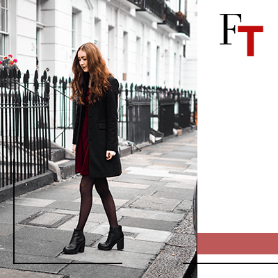 Fashion Trends and Style - Black tights - Stockings