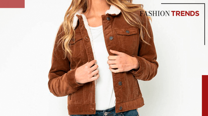 Fashion Trends and Style- Ideas to combine your corduroy jacket - Banner