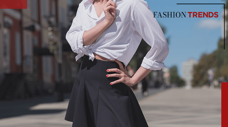 Fashion Trends and Style - black skirt - Banner
